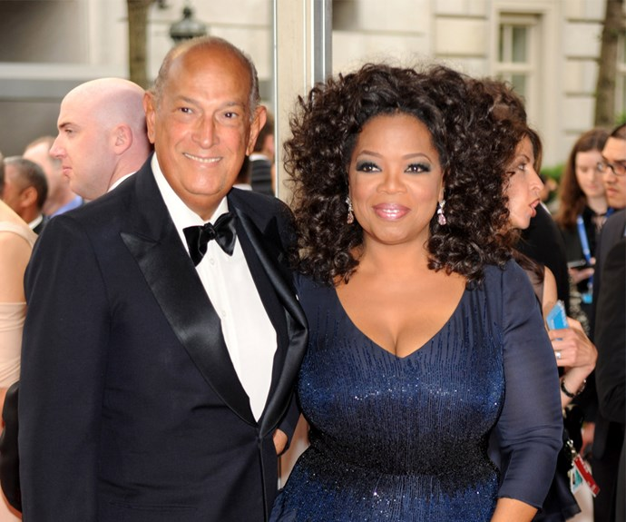 Volume, volume, volume! Embracing her natural curls, Oprah rocked this styled 'fro in 2010.