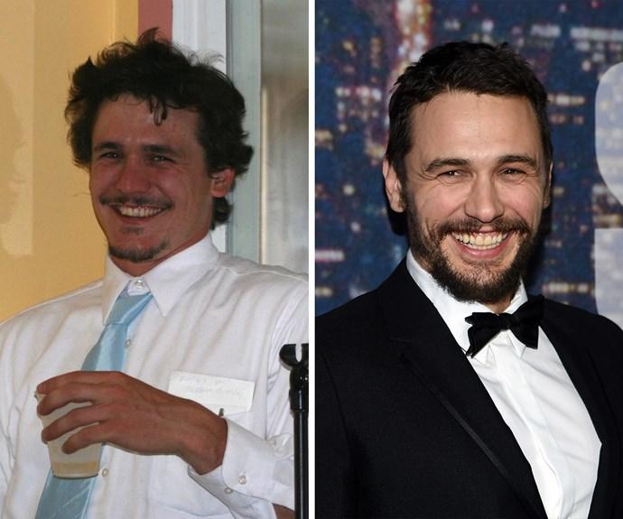 It's in the eyes! James Franco's doppelganger is pretty spot on.
