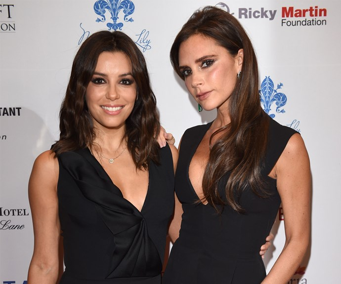 These stylish friends, Eva Longoria and Victoria Beckham, are seen out wining and dining regularly.