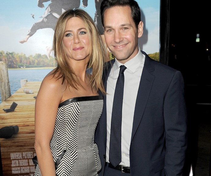 Jennifer Aniston and Paul Rudd have been friends for more than 17 years, since they starred together in 1998's *The Object of My Affection*.