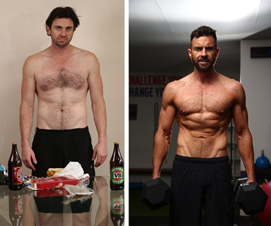 The Block's Steve goes from flab to fit in 12 weeks!