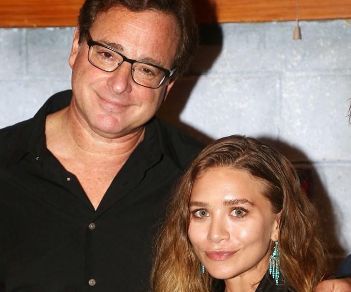 """Loved having my dear friend Ashley Olsen at my welcoming opening of @HandToGodBway,"" Bob shared."