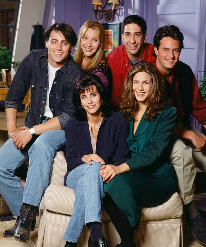 Everybody's favourite *Friends*, back in the glory days.