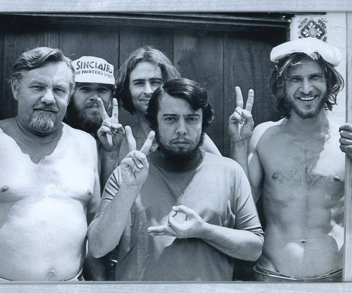 """The Force Awakens! Before Han Solo, there was a great carpenter named Harrison Ford. And here he is, with his crew, the day he finished building my recording studio back in 1970...Thank you Harrison...may the force be with you... ‪#‎TheForceAwakens‬ ‪#‎StarWars‬ ‪#‎HarrisonFord‬,"" Sérgio captioned the pic."