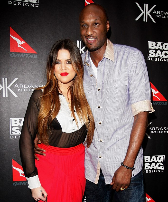 Khloe has been by Lamar's side throughout his recovery.