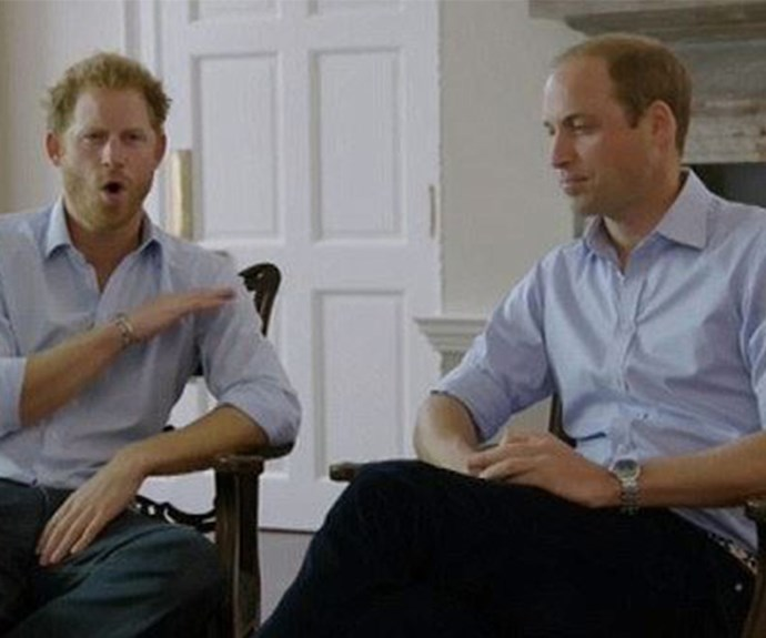Prince William dropped the B-bomb.