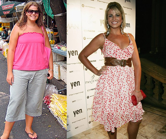 Before and after: In 2006, Fiona went from a size 20 to 12 on *The Biggest Loser*.