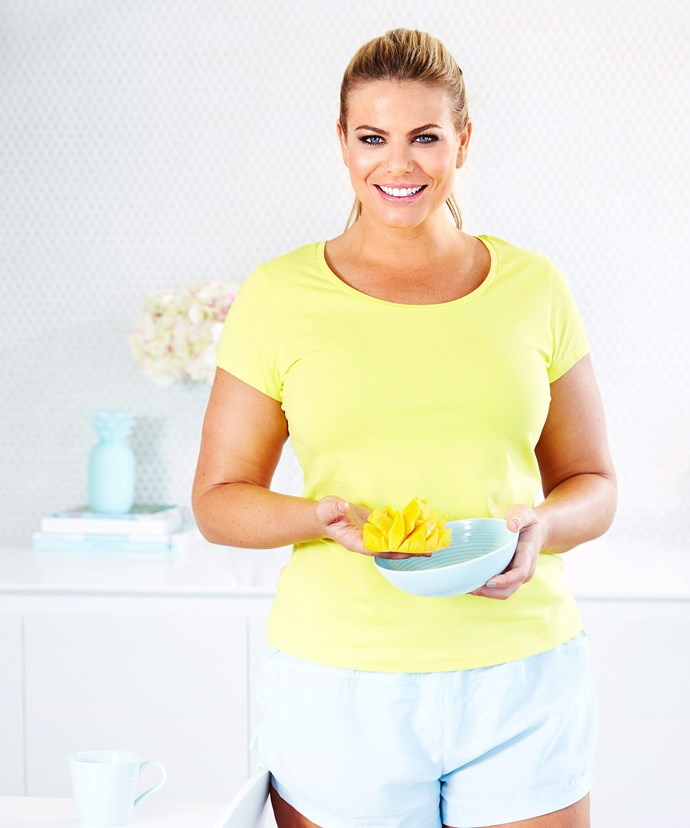 Fiona knows a good diet, simple exercise and a positive mind are key to finding balance.