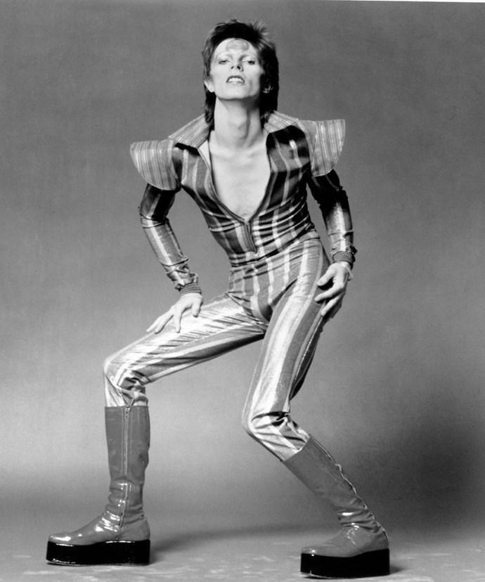 David as his alter-ego, Ziggy Stardust.