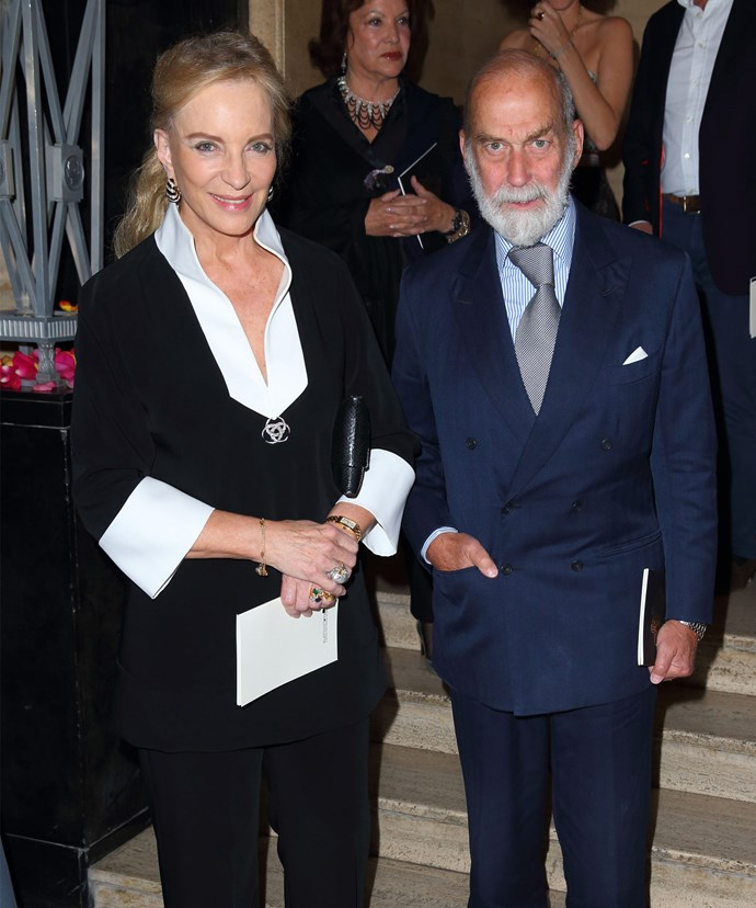 Isabella and Maud's grandparents, Princess and Prince Michael of Kent.