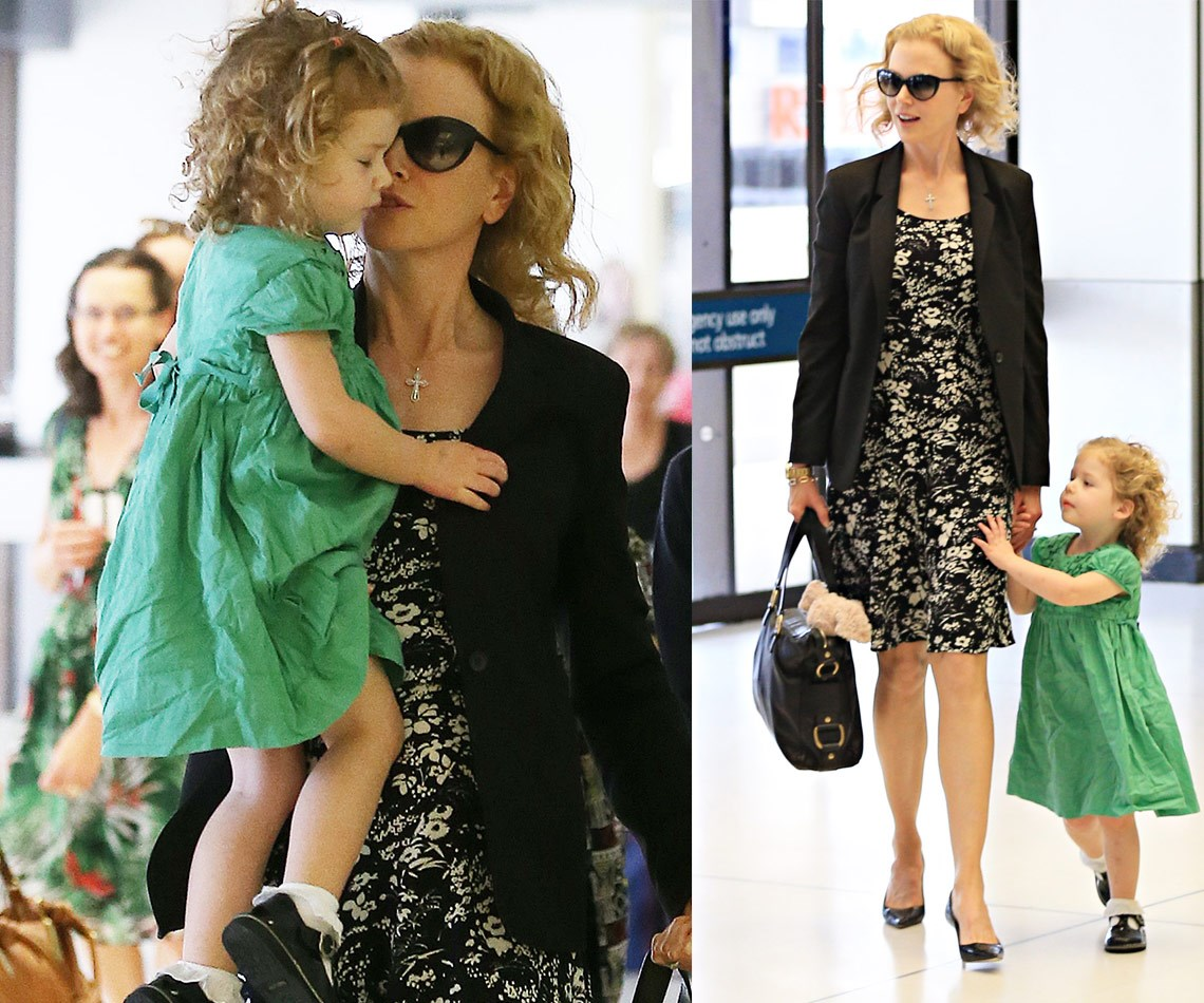 """Nicole Kidman's fertility struggles have been well documented, including a harrowing ectopic pregnancy during her first marriage to Tom Cruise. Although she conceived Sunday Rose naturally with Keith Urban, the couple's second child together, Faith Margaret, through a surrogate. """"she was the most wonderful woman to do this for us. And we were in a place of desperately wanting another child and this opportunity arose for us. And I couldn't get pregnant and we wanted another baby. I get emotional just talking about it cause I'm so grateful to her,"""" the star explained during an interview with *60 Minutes.*"""