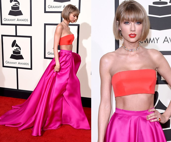 There was no sign of Taylor's boyfriend, Calvin Harris.