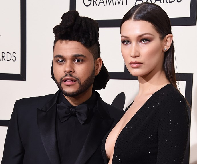 The Weeknd, aka Abęl Makkonen Tesfaye, and his model girlfriend Bella Hadid [worked coordinating black ensembles.](http://www.womansday.com.au/style-beauty/fashion/celebrity-couples-who-dress-the-same-14234)