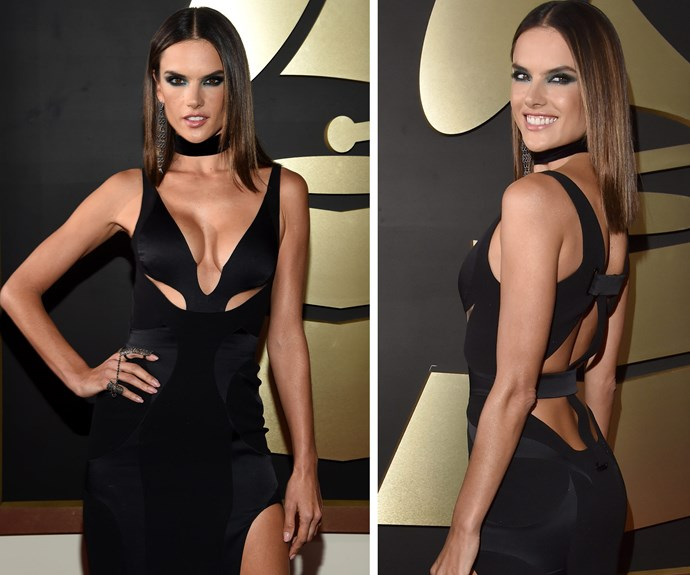 Alessandra Ambrosio brought the wow factor!