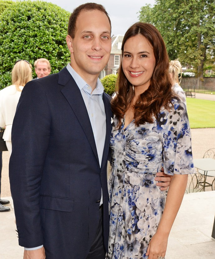 Lord Freddie and Lady Sophie are proud parents of two daughters - their eldest, Maud, is George's little friend!