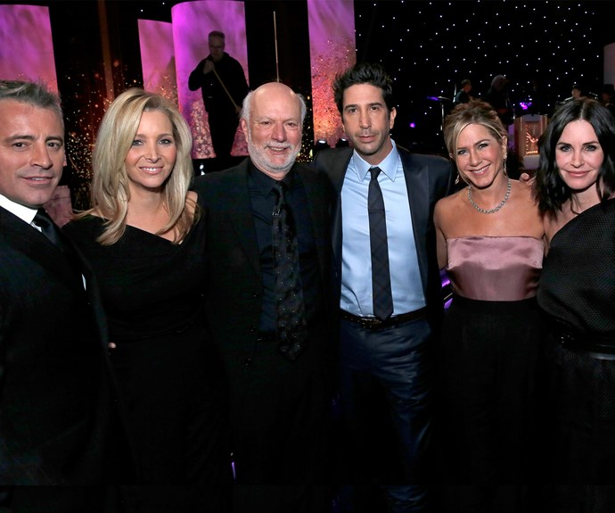 """No one told us life was going to be this way – or that it would only take a decade to get our favourite friends to reunite! But it finally happened when five out of the six *Friends* banded together for honour director [Jimmy Burrows last year.](http://www.nowtolove.com.au/lifestyle/books/what-we-learned-from-the-friends-reunion-29687
