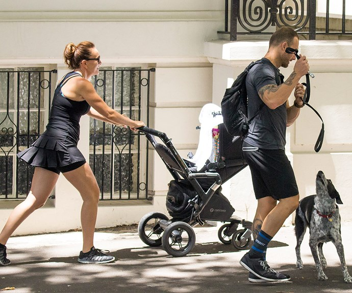"""The fitness guru told *AWW* in January that motherhood is """"the best thing I've ever done."""""""