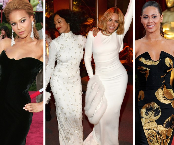 Sometimes all you need at the Oscars is a huge dose of being fabulous... cue Beyonce. Bey ALWAYS delivers with amazing style.