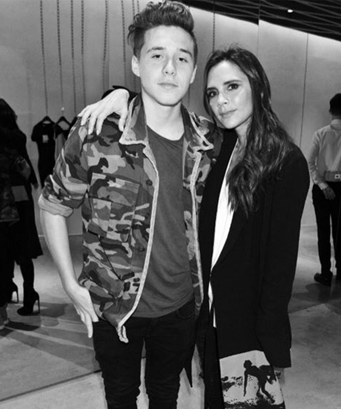 Is Posh's son Brooklyn growing up too fast?