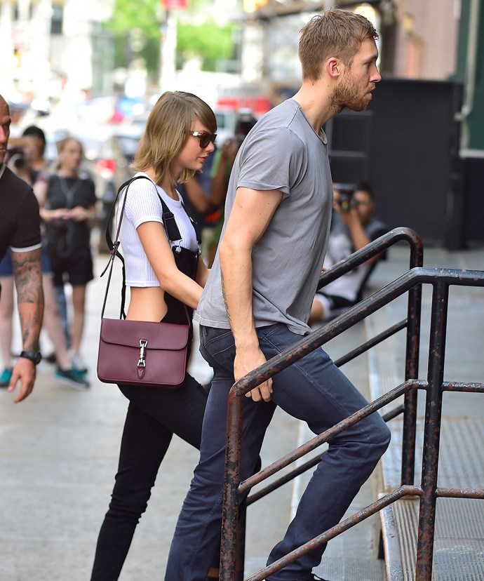 The power couple walked hand-in-hand around the streets of NYC in May 2015.