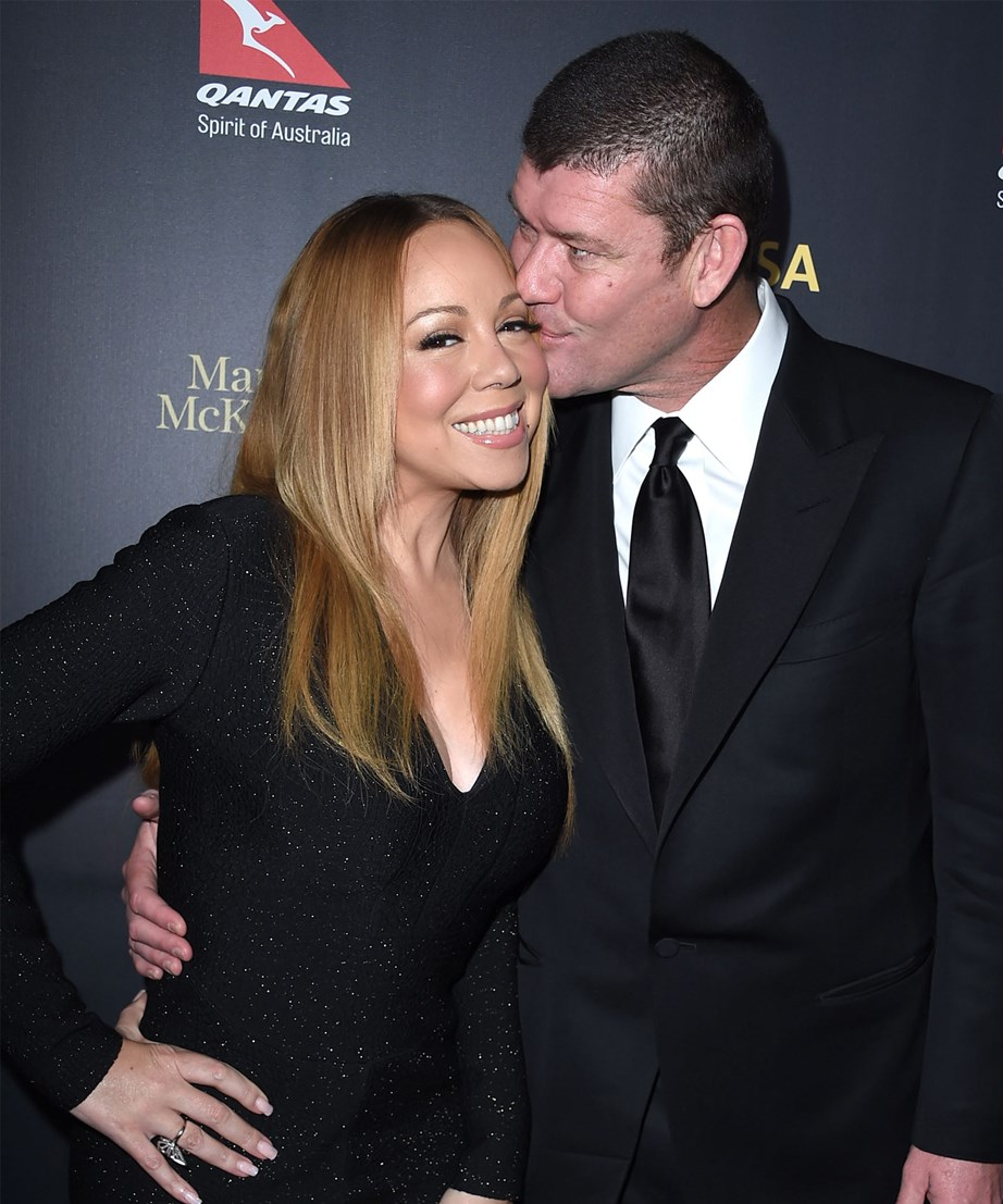 James packer and mariah Carey photos
