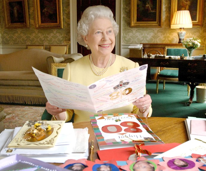 The Queen was all smiles back in 2006 as she celebrated her 80th birthday. No doubt her 90th will be bigger and better!