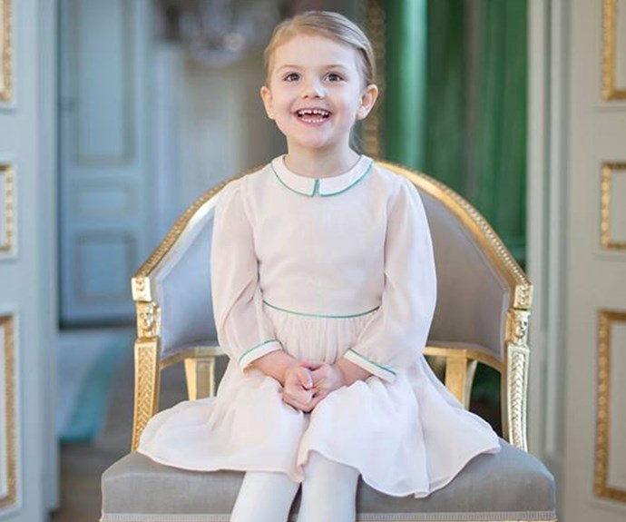 "Oscar's big sister is the effervescent Princess Estelle, Duchess of Östergötland. Her Godmother is Australia's Princess Mary and her [Godfather is uncle Prince Carl Philip!](http://www.womansday.com.au/royals/international-royals/princess-sofia-and-prince-carl-philip-of-sweden-are-expecting-13901|target=""_blank"")"