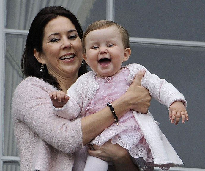 How adorable was Princess Isabella as a baby!