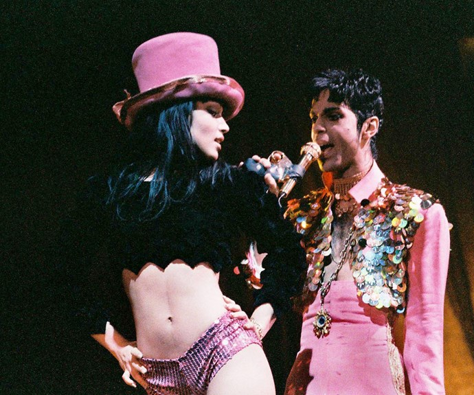 """Prince was my first crush, and my first love, but we didn't start to get serious until I turned 18. He was very respectful,"" Mayte once said of her ex-husband to the UK's *Mirror*."