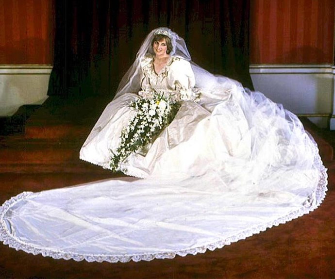 """Her 1981 marriage to Prince Charles was dubbed the """"wedding of the century"""" - no wonder she needed a rest."""