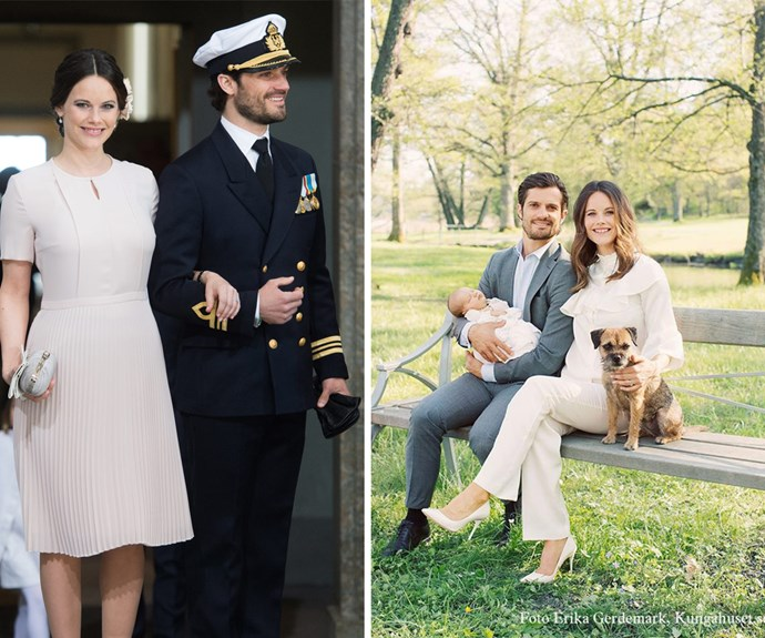 "Swedish royals Prince Carl and Princess Sofia are beyond smitten with their newborn son, Prince Alexander Erik Hubertus Bertil, Duke of Södermanland, who was [born in April.](http://www.womansday.com.au/royals/international-royals/prince-carl-philip-and-princess-sofias-baby-name-15199|target=""_blank"")"