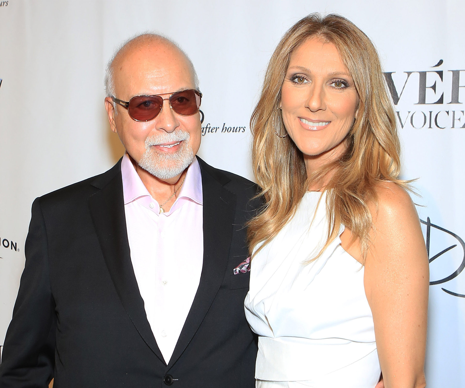 Celine and her husband Rene were married for 21 years before his death