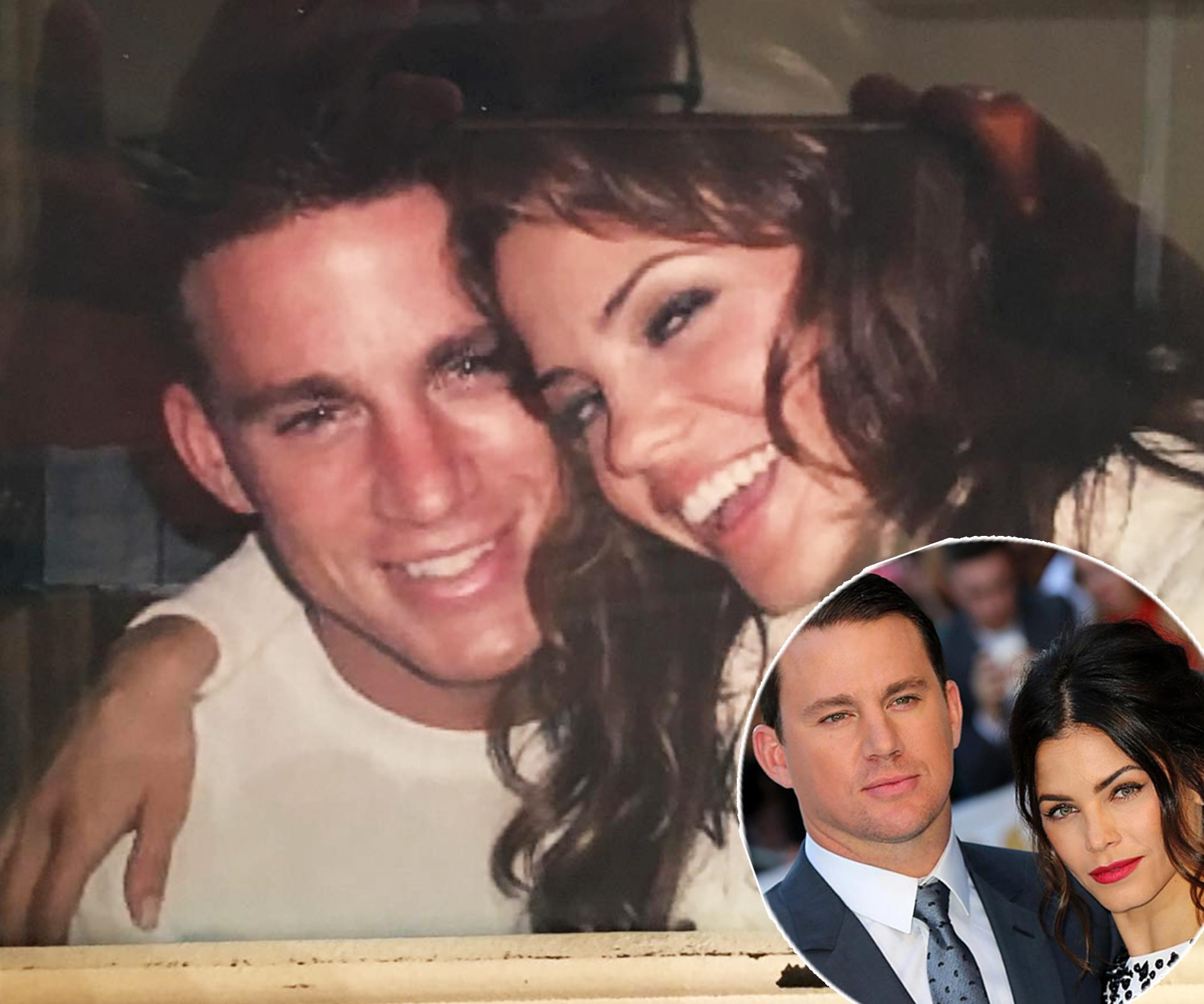 """Jenna Dewan Tatum shared this adorable throwback from the set of *Step Up*, where she and her now-hubby Channing met, a decade ago. """"On set of Step Up. I cannot believe it's the 10 year anniversary of the release today!! Ahhhh where does the time go?? Love you all and thanks for all the love all these years,"""" she captioned. **Watch Channing and Jenna re-enact the Step Up dance 10 years later in the next slide!**"""
