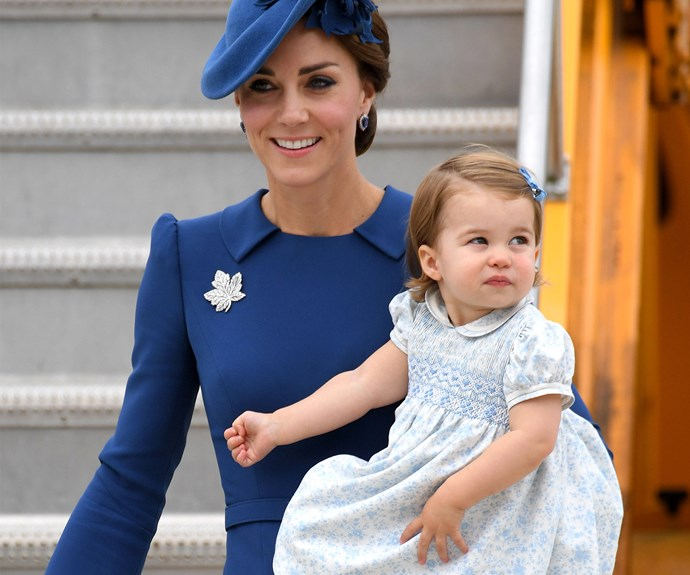 Who could forget when Princess Charlotte made her very first overseas debut as she joined her parents, The Duke and Duchess of Cambridge along with her big brother George for their royal tour of Canada.