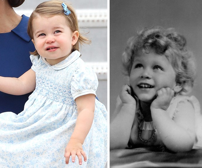 """Following the birth of Princess Charlotte, Her Majesty was heard saying, rather proudly, """"We love to have another girl!"""""""