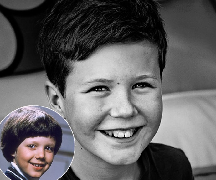 Last year,Crown Prince Frederik and wife Princess Mary shared this portrait of their eldest son on his 11th birthday. Prince Christian of Denmark, who is second-in-line for the throne after his father, is sure following the footsteps of his dapper dad (inset)! Fans were quick to point out how similar the pair look at the same age. (pic @viadetdanskekongehus/Franne Voigt)