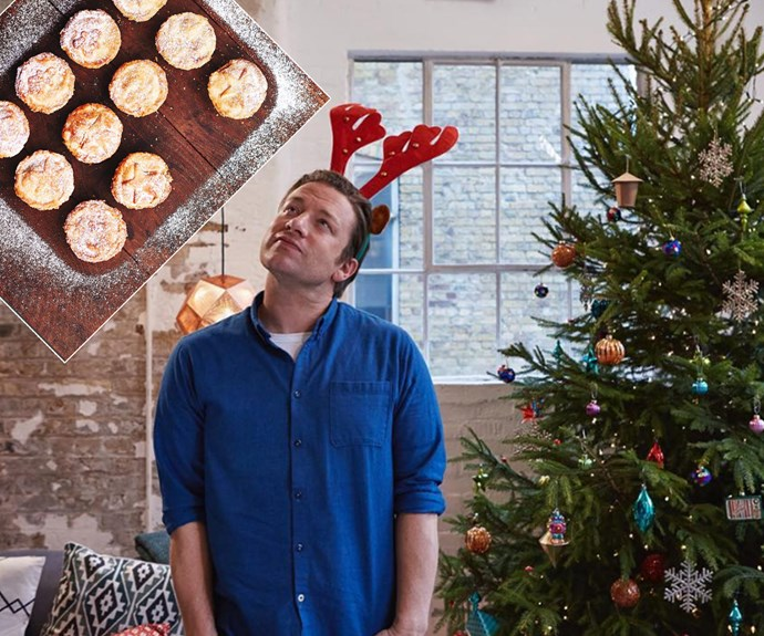 Not that he's ever been one to cut back on the butter and olive oil, but king of Christmas, Jamie Oliver has been sharing Chrissy treats left, right and centre as the big day approaches!