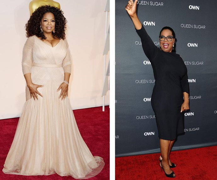 What a difference a year makes! Oprah is yet to reveal her total weightloss so far, but in January, the 62-year-old divulged that she had lost around 11kg since beginning her Weight Watchers routine. **WATCH the talkshow host rave about her new diet in the next slide!**