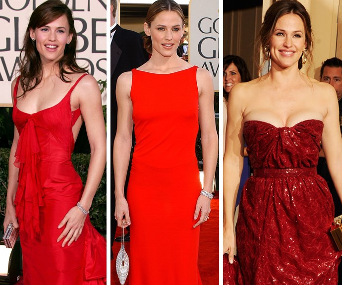 Jen scored the 2003 Golden Globe for Best Performance by an Actress in *Alias*, since then she's landed another three nominations.