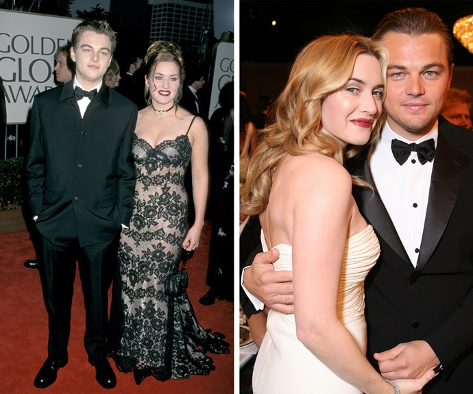 Best friends forever! In 1998, a baby-faced Leonardo DiCaprio and Kate Winslet walked the red carpet together and in 2007 the pair were as close as ever.