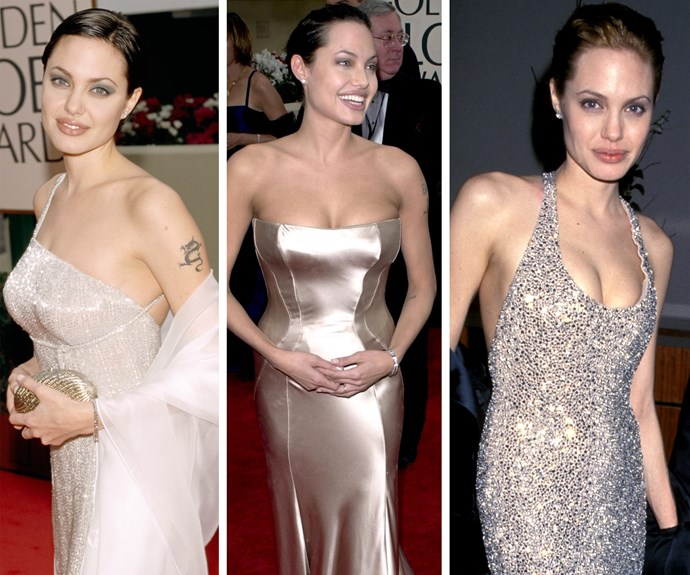 Over the years, Angelina Jolie has been the award show's golden girl.