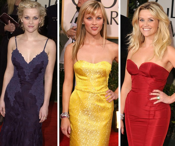 Reese Witherspoon has been nominated for four Globes and in 2004 won Best Actress for *Walk the Line*.