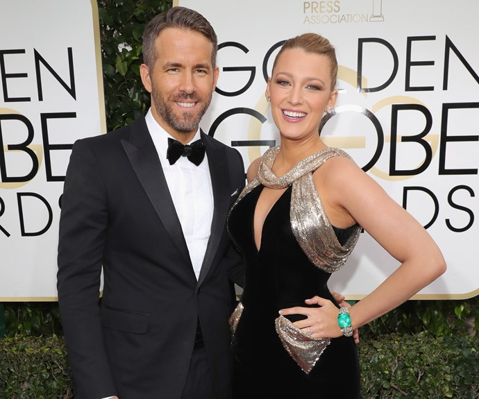 Hollywood's golden couple Ryan Reynolds and Blake Lively are in the house!