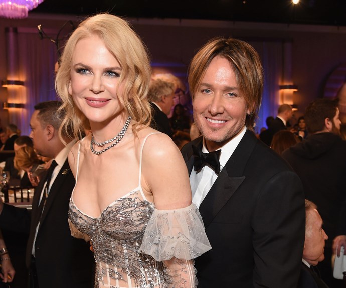 Nicole Kidman missed out on a Globe but that didn't stop her from kicking up her heels with Keith Urban.
