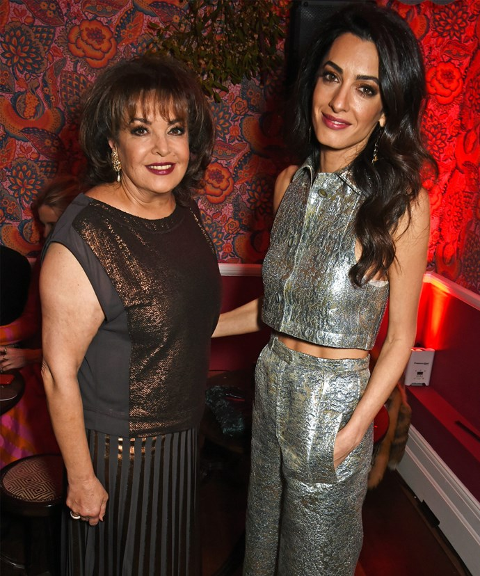 Amal cites her mum Baria as her role model.
