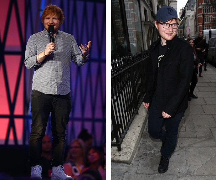 "Singer Ed Sheeran dropped a commendable 19kgs after he made the observation: ""All my clothes have shrunk."" On how he did it, the 25-year-old ginger says, ""I did ten minutes a day without fail — intervals of 30 seconds sprinting and 30 jogging."""