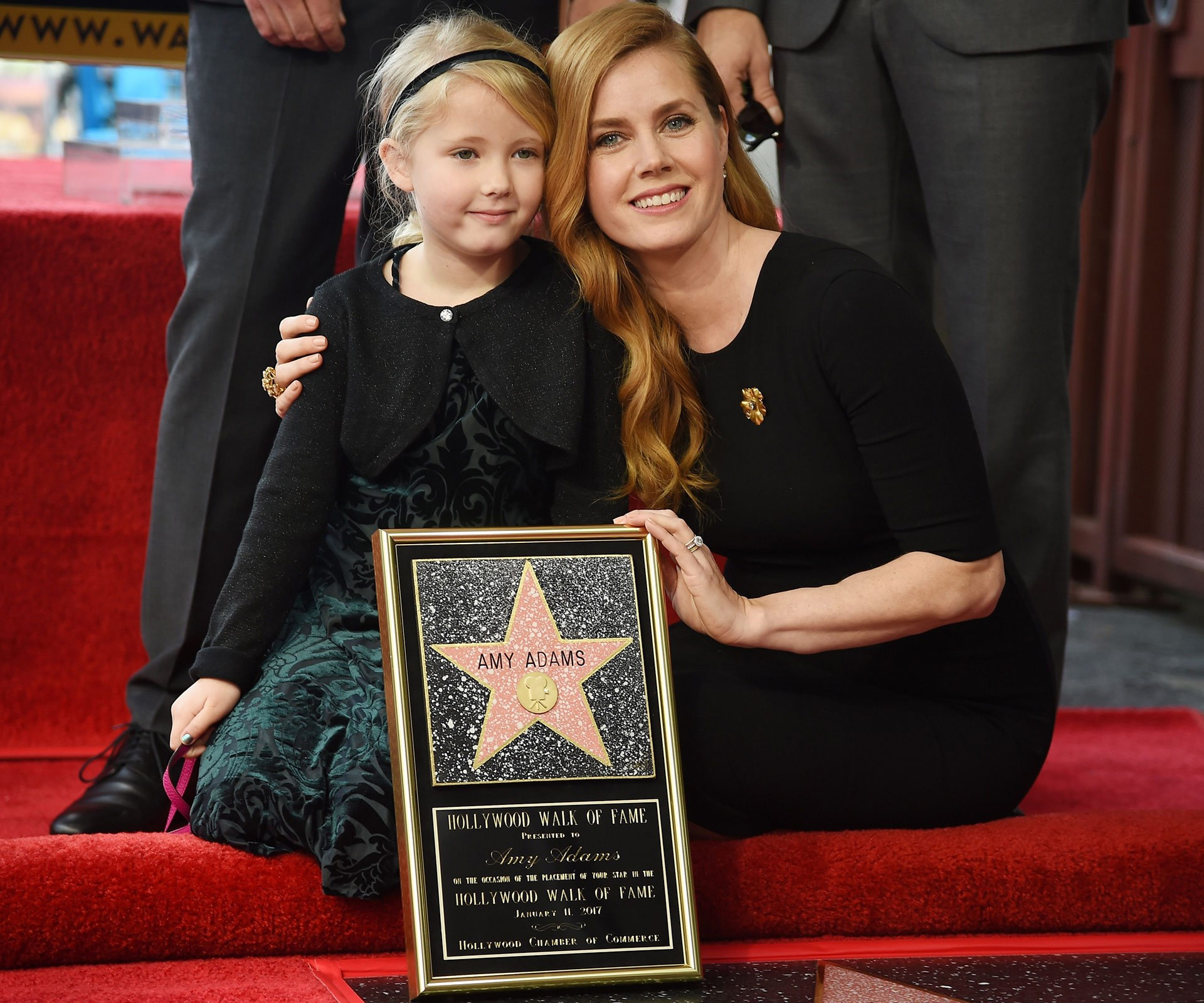 Amy Adams' daughter Aviana this week made her public debut as the Arrivals actress received a coveted star on the Hollywood Walk of Fame.