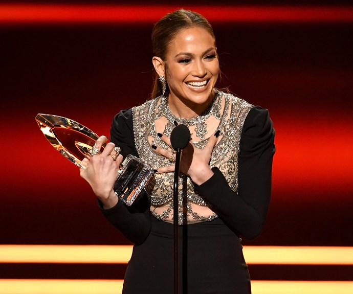 The 47-year-old took out the award for Favorite TV Crime Drama Actress.