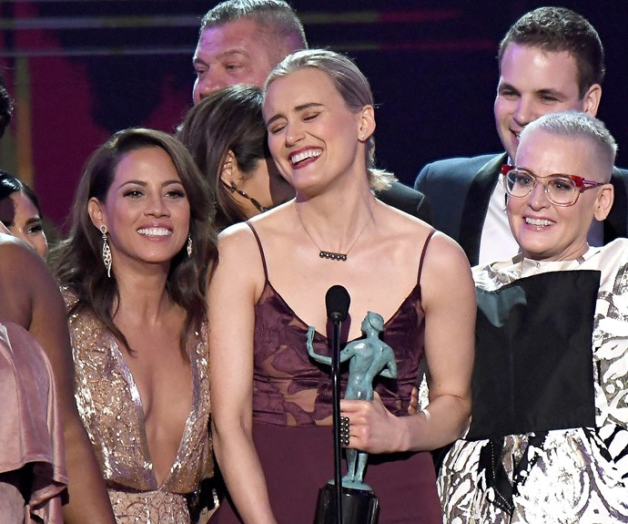 *Orange Is The New Black* have scored the Outstanding Performance by an Ensemble in a Comedy Series.