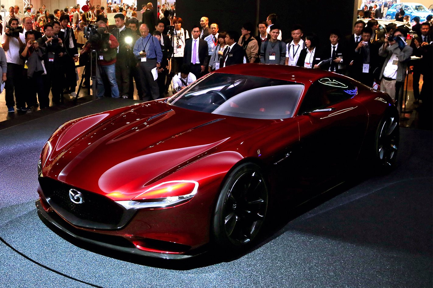 Tokyo Motor Show Mazda Rx Vision Concept Car To Inspire